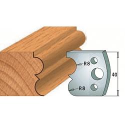 Комплекты ножей и ограничителей серии 690/691 #028 CMT Ножи и ограничители для фрез 40 мм Ножи